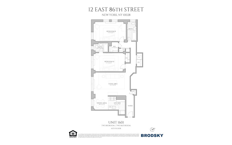 12 East 86th Street - 01 1601 Only