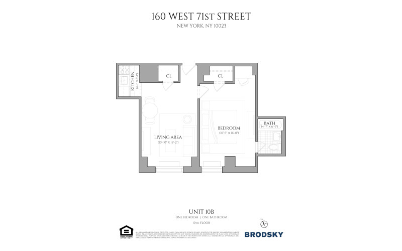 160 West 71st Street - 10B 10B