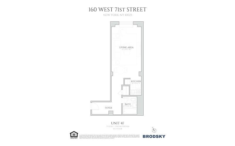 160 West 71st Street - 4F 4F