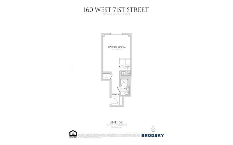 160 West 71st Street - H 5