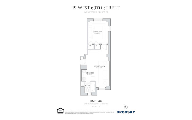 19 West 69th Street - 204/1 bed/19 W69th 204