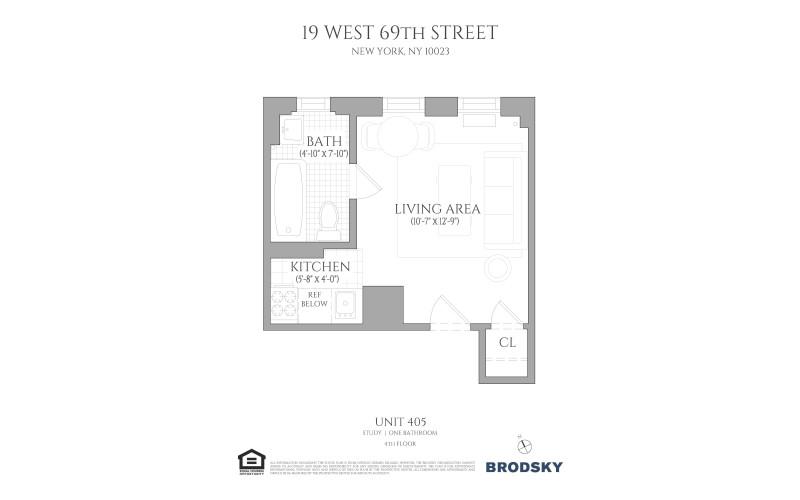 19 West 69th Street - 405