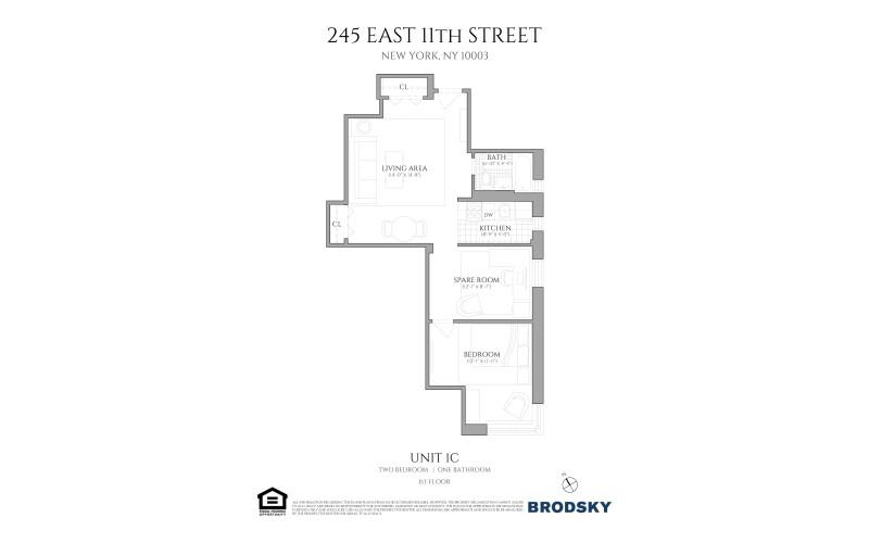 245 East 11th Street - 1C