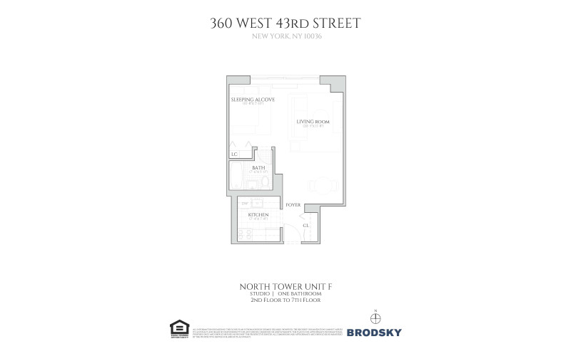 360 West 43rd Street - F - North Tower 2-7