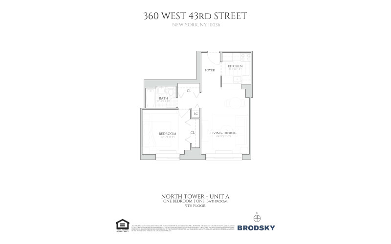 360 West 43rd Street - North A Line 9th Floor 9