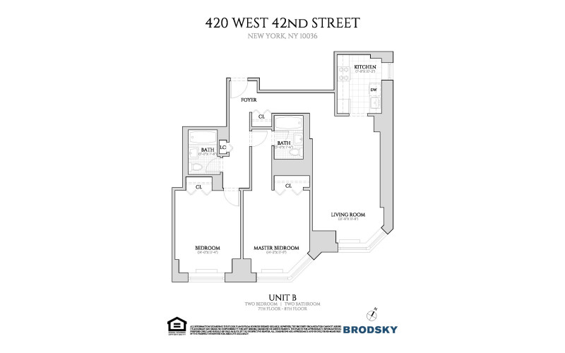 420 West 42nd Street - B 7-8 NEW