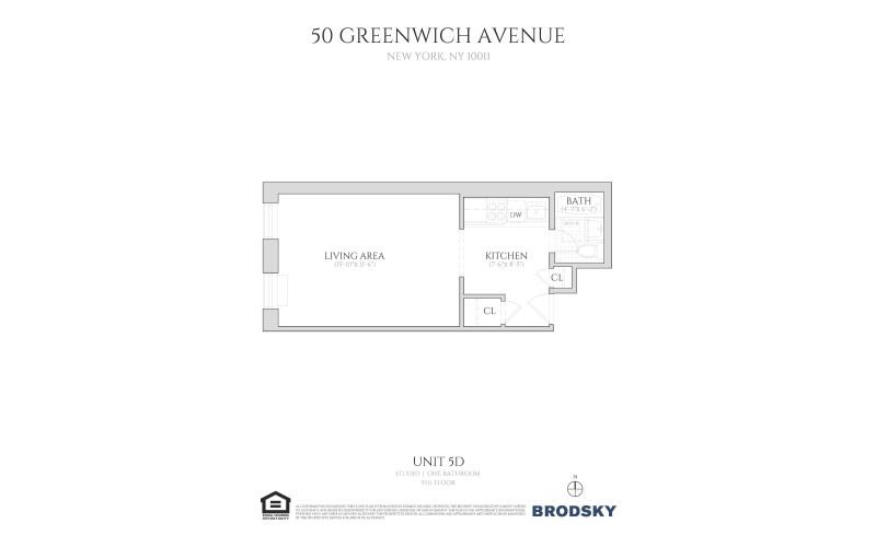 50 Greenwich Avenue - 5D