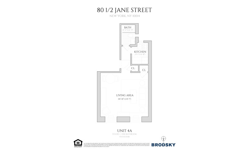 80 1/2 - 82 Jane Street - 4A