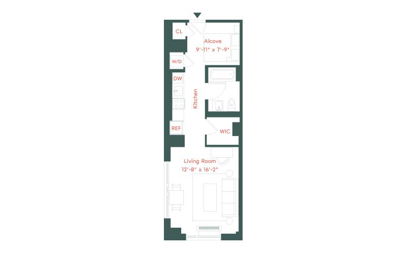 Plank Road - J Line  | Floor 08-17