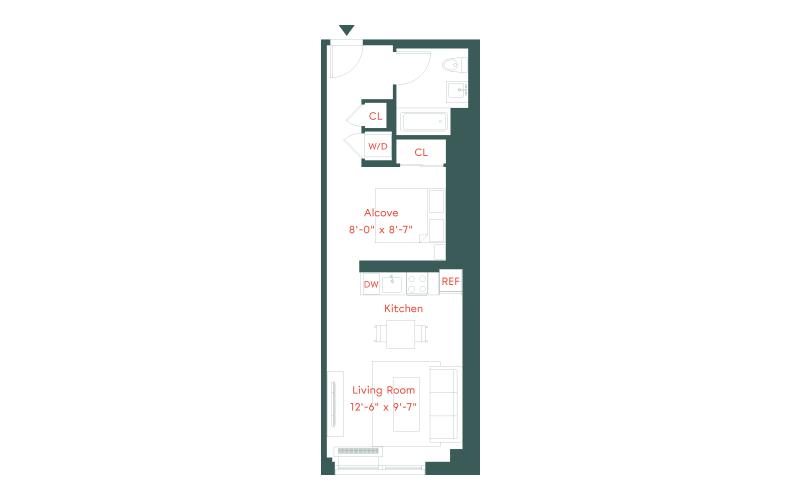 Plank Road - K Line  | Floor 08-17