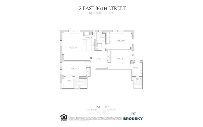 12 East 86th Street - 1602 1602 only
