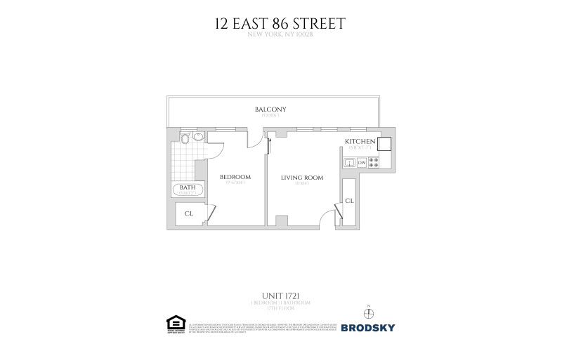 12 East 86th Street - 1721 17 only