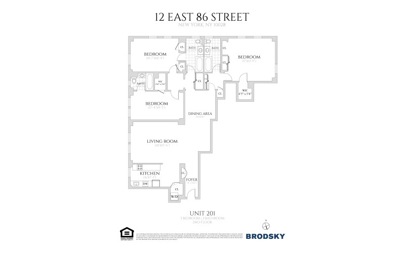 12 East 86th Street - 201 only  2
