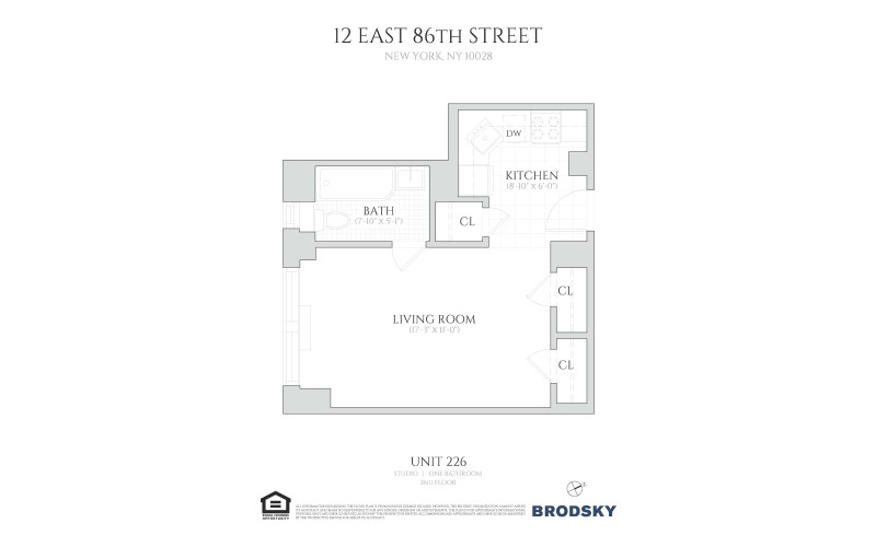 12 East 86th Street - 226 226 only