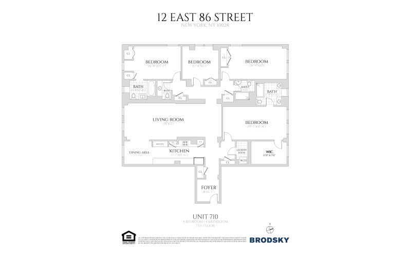 12 East 86th Street - 710 710 only