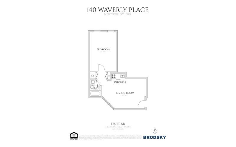 140 Waverly Place - #6B