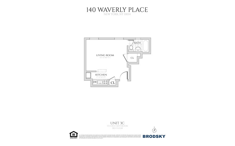 140 Waverly Place - #3C