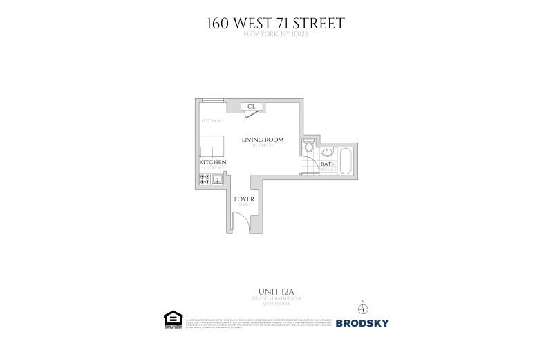 160 West 71st Street - 12A
