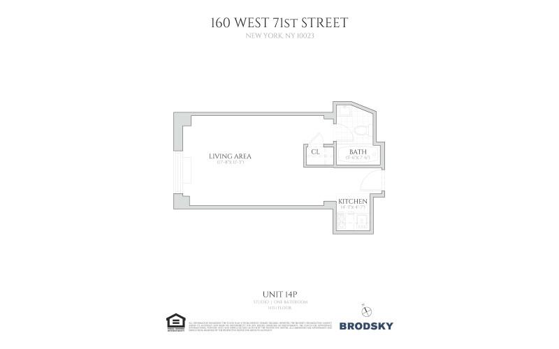 160 West 71st Street - 14P 14