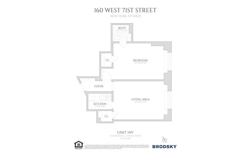 160 West 71st Street - 14V