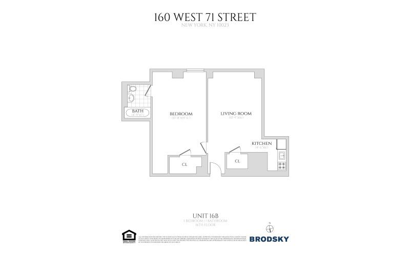 160 West 71st Street - 16B