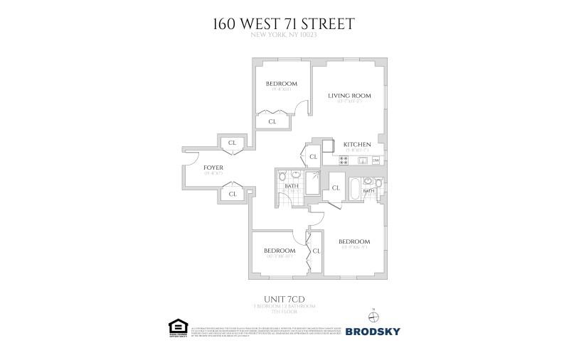 160 West 71st Street - 7CD 7