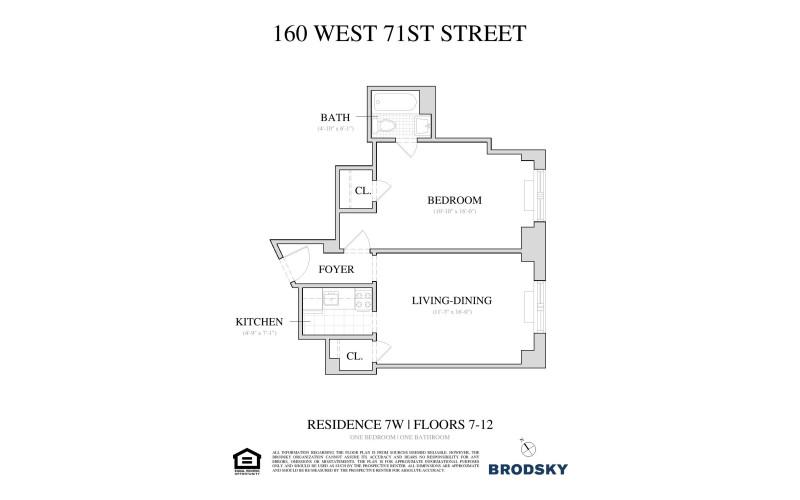160 West 71st Street - 7W