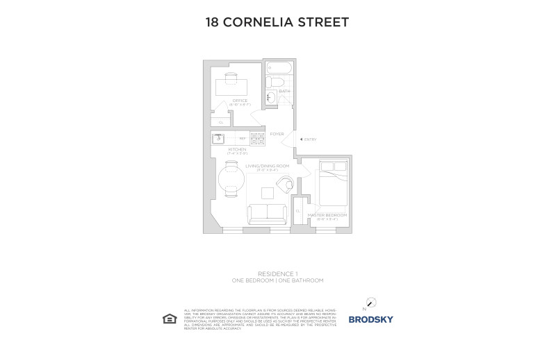 18 Cornelia Street - #1
