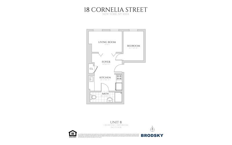 18 Cornelia Street - #8