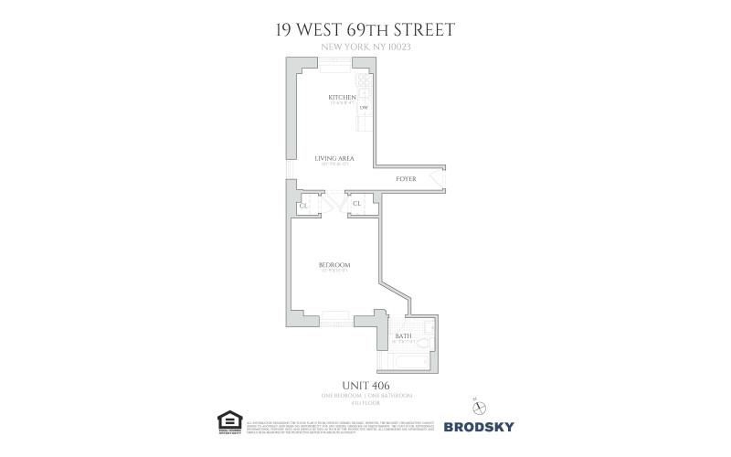 19 West 69th Street - 406 406