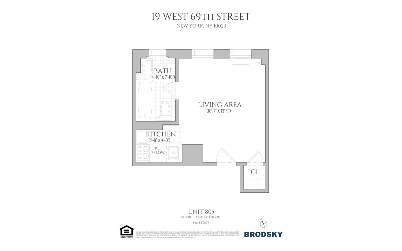 19 West 69th Street - 805 805