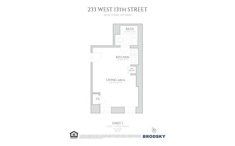231 - 235 West 13th Street - 233 1 233 1st