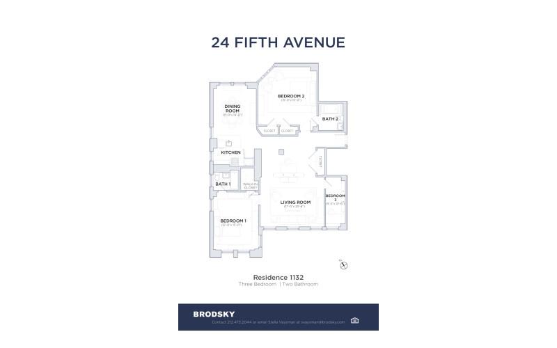 24 Fifth Avenue - 32 1132