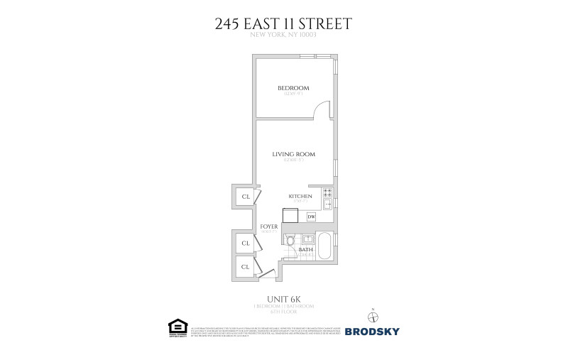 245 East 11th Street - 6K 6K