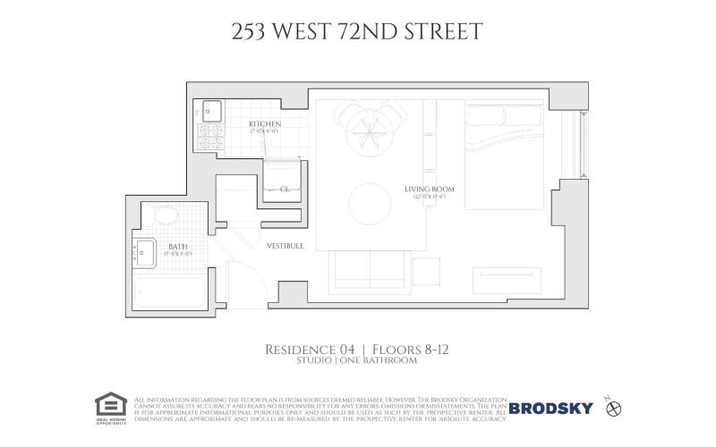 253 West 72nd Street - 1104 11