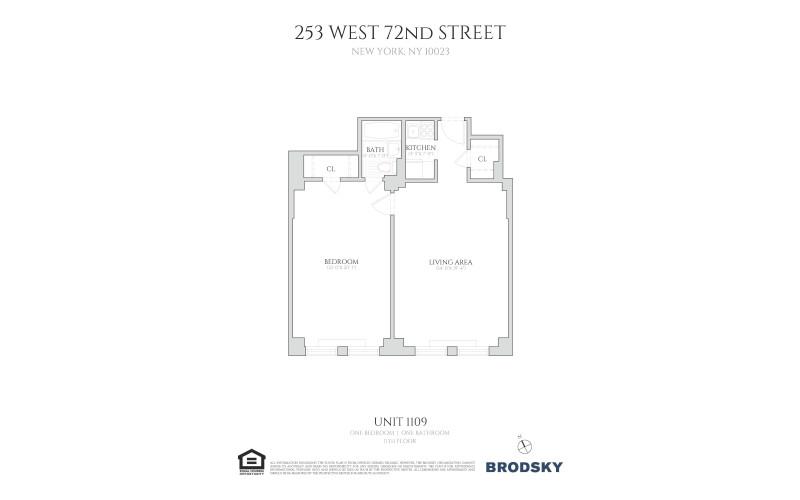 253 West 72nd Street - 1109 1109