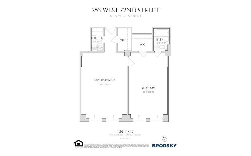 253 West 72nd Street - 807
