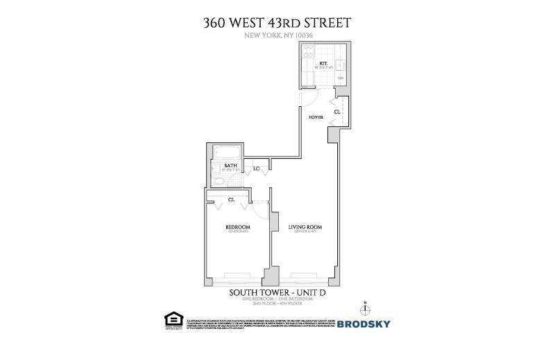 360 West 43rd Street - D 2-4