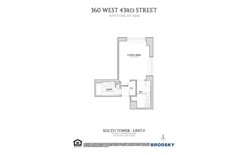 360 West 43rd Street - F Line 6-PH New 6 - PH