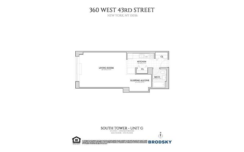 360 West 43rd Street - G 2-4