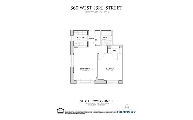 360 West 43rd Street - New L Line 2-4