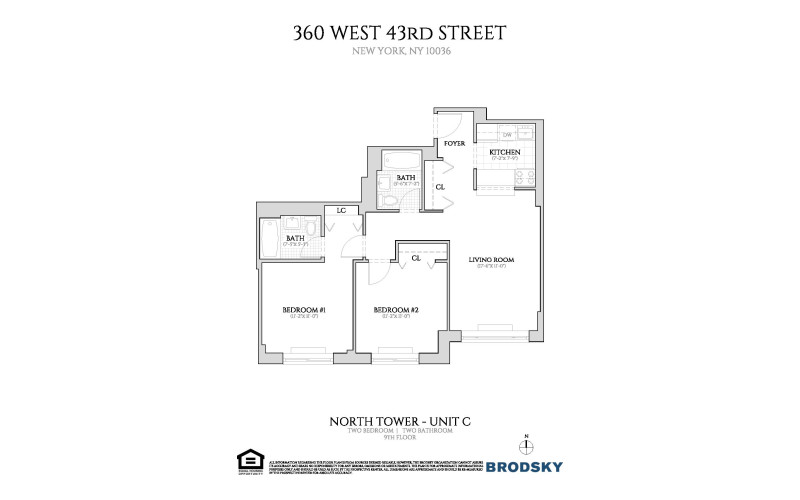 360 West 43rd Street - New North C Line 9