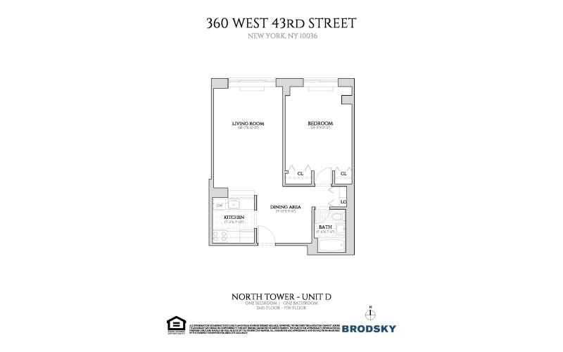 360 West 43rd Street - New North D Line 2-7