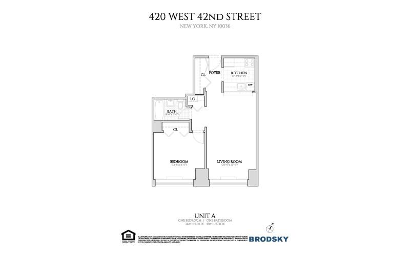 420 West 42nd Street - A 26-40**
