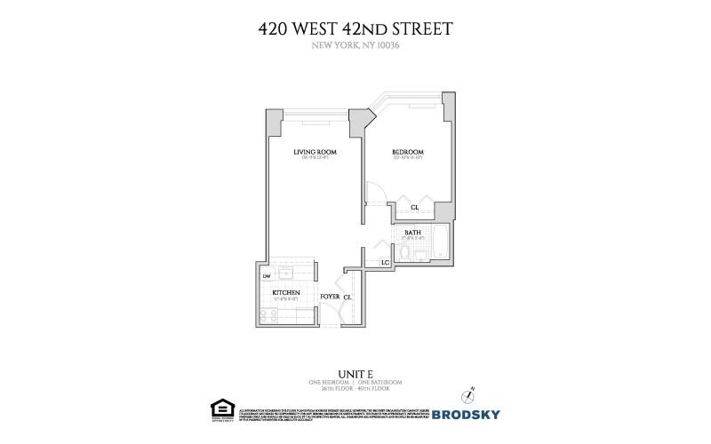 420 West 42nd Street - E 26-40 NEW