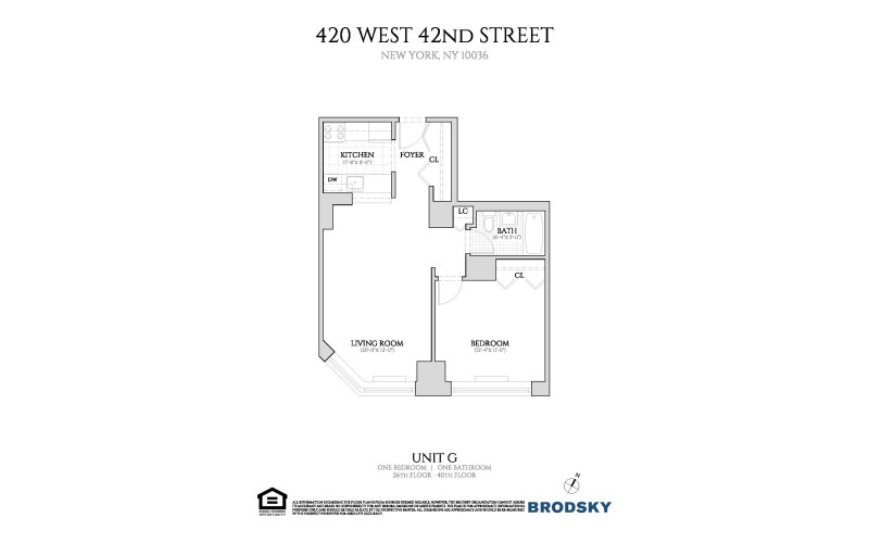 420 West 42nd Street - G 26 - 40 (New)