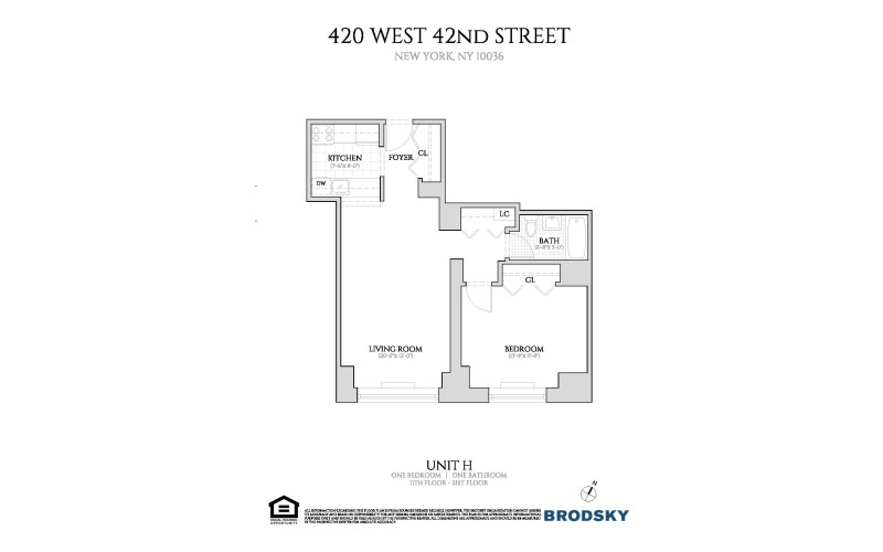 420 West 42nd Street - H 11-21 NEW