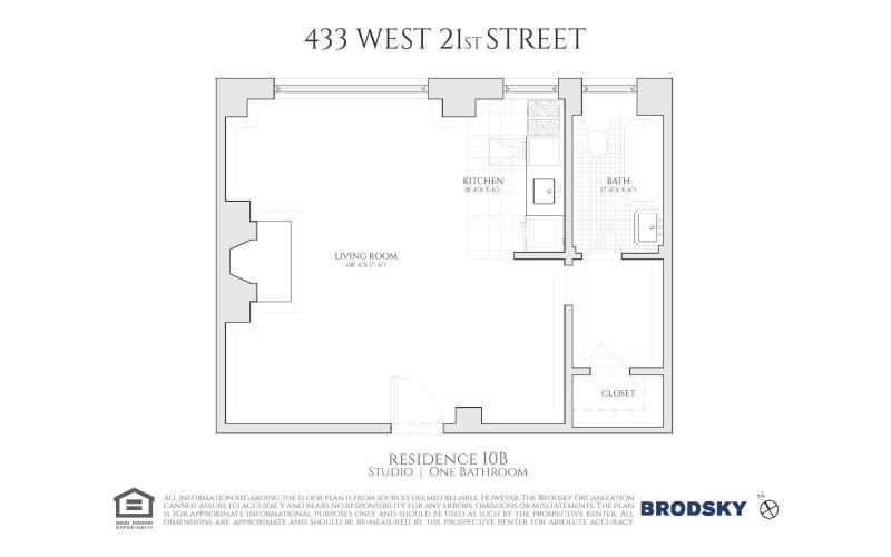 433 West 21st Street - B 10