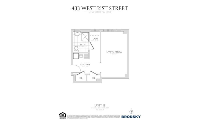 433 West 21st Street - 1E