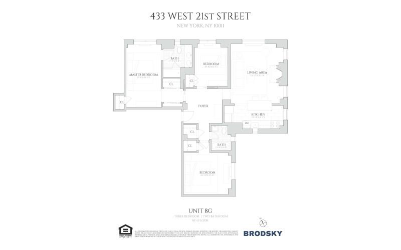 433 West 21st Street - G 8